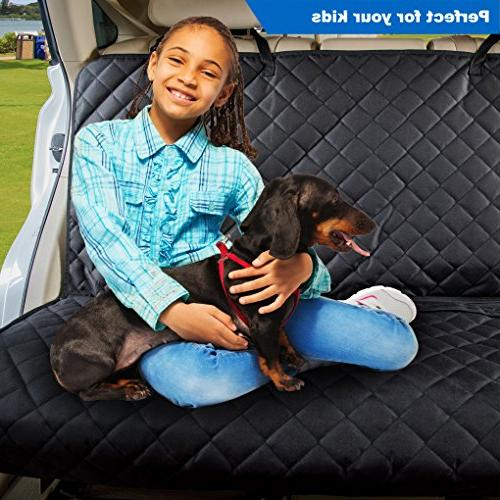 VIEWPETS Bench Seat Cover Protector - Waterproof, Heavy-Duty and Car for Dogs Fits for Trucks & SUVs