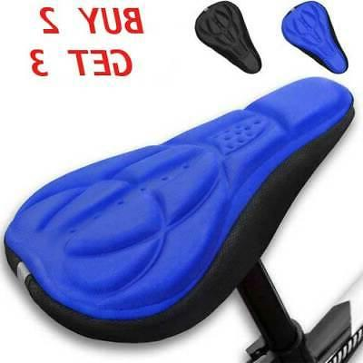 Bike 3D Gel Seat Cover Bicycle Soft Comfort Cushion