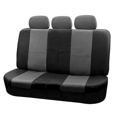 Leather Airbag Compatible and Split Seat Covers,