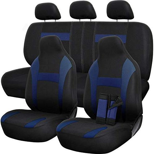car seat cover poly cloth two tone