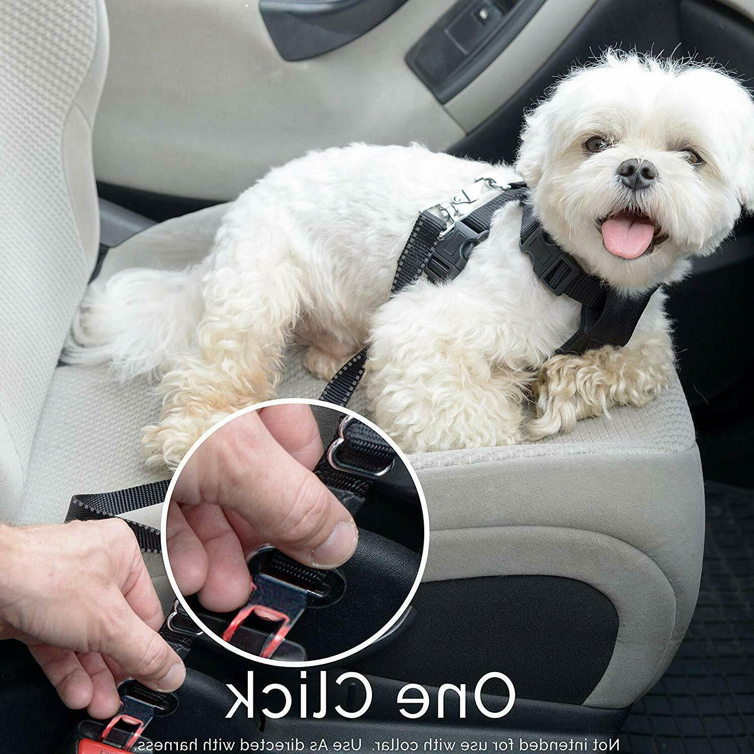 Dog Cover for BackSeat Durable Car Seatbelt