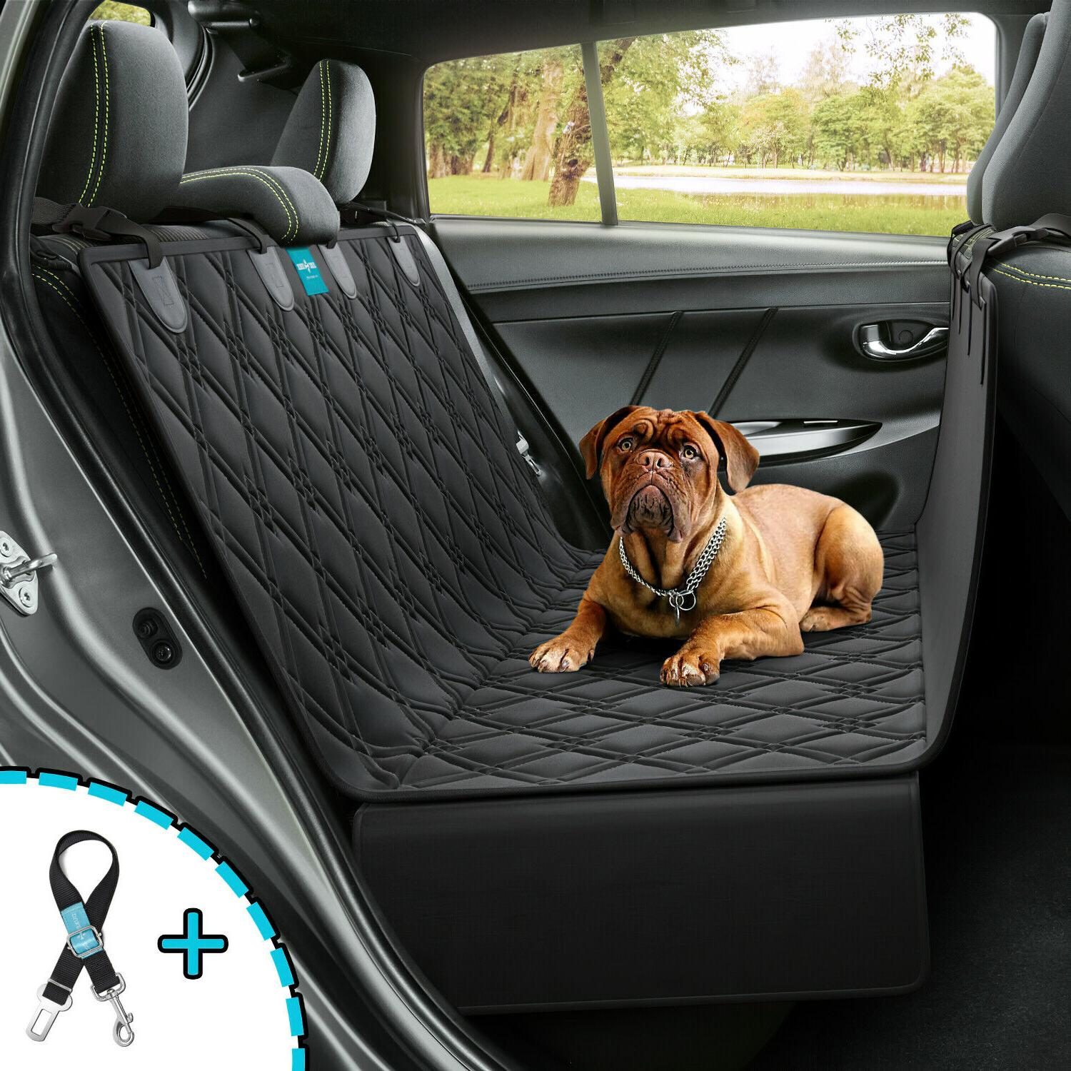 dog seat cover hammock for backseat durable