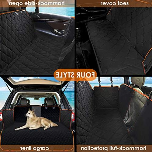 Pet Seat with & Nonslip Scratch Side Machine Back Cover for Cars and