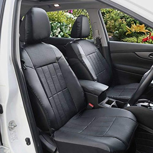 Groovy Faux Leather Sideless Seat Covers For Car Truck Andrewgaddart Wooden Chair Designs For Living Room Andrewgaddartcom