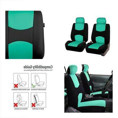 FH Group FB050MINT102 Mint Color Universal Fit Bucket Seat C