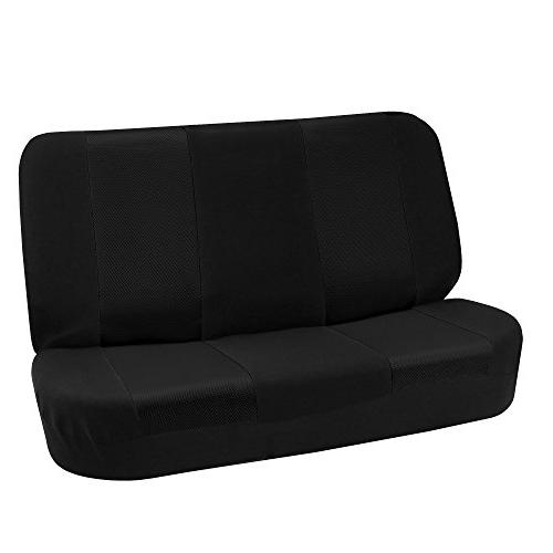 fb102010 classic cloth bench seat covers solid
