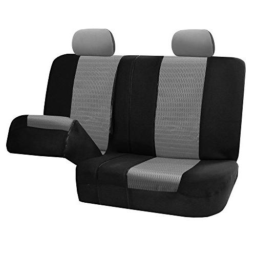 FH Group FH-FB060114 Trendy Elegance Full Seat and Split Color- Fit Most Truck,