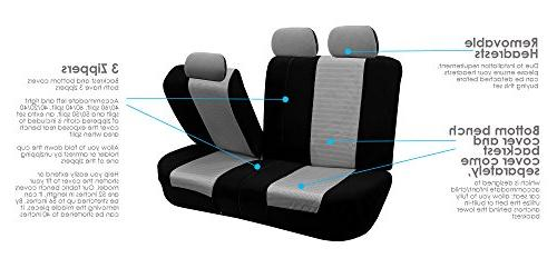 FH Elegance Car Seat Covers, and Split Color- Truck,