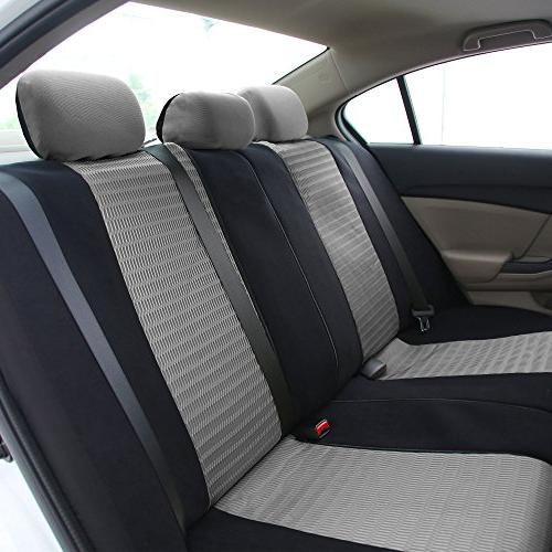 FH Seat Airbag and Split Gray/Black Color- Fit Truck, SUV,