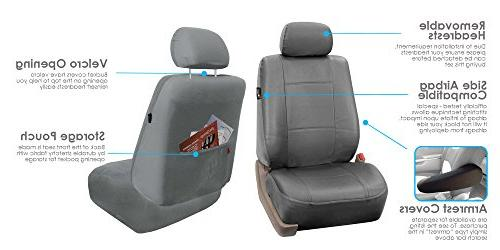 FH Exquisite Car Seat Covers, Compatible Solid or