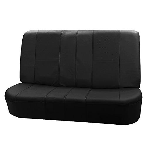 fh pu007010 deluxe leatherette bench seat covers