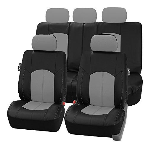 fh pu008115 perforated leatherette full set car