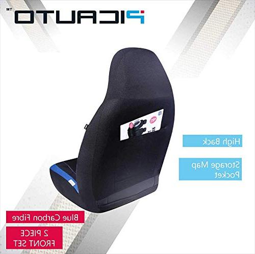 PIC AUTO Car Seat Sports Mesh Design, Universal Fit, Airbag Compatible
