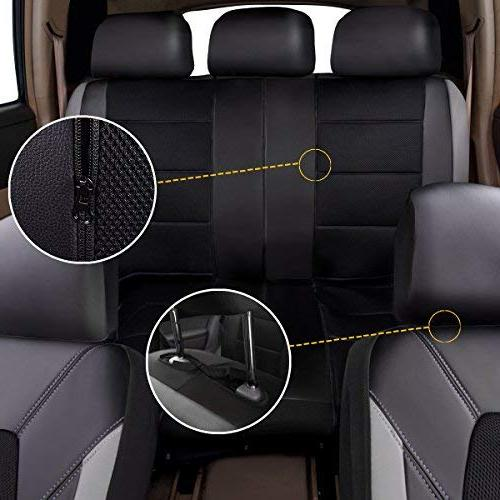 CAR Leather Mesh Covers,Airbag Compatible, Trunkcs,Suvs