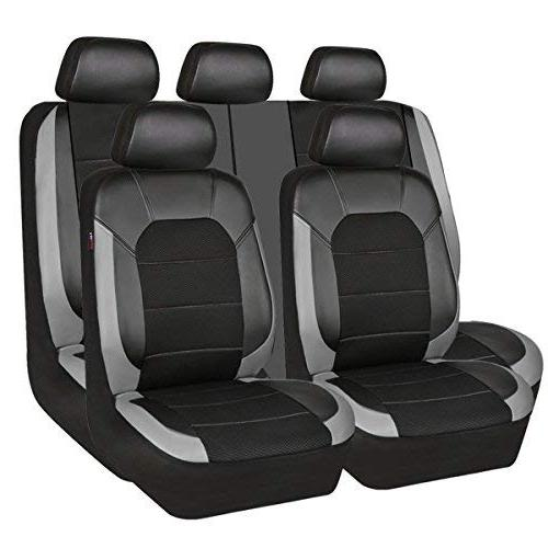 leather and mesh universal car seat covers