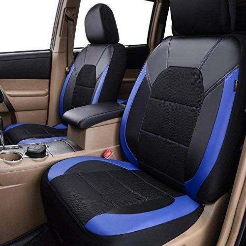 CAR Mesh Car Seat for Trunkcs,Suvs,Airbag Design and Opening Holes Headrest