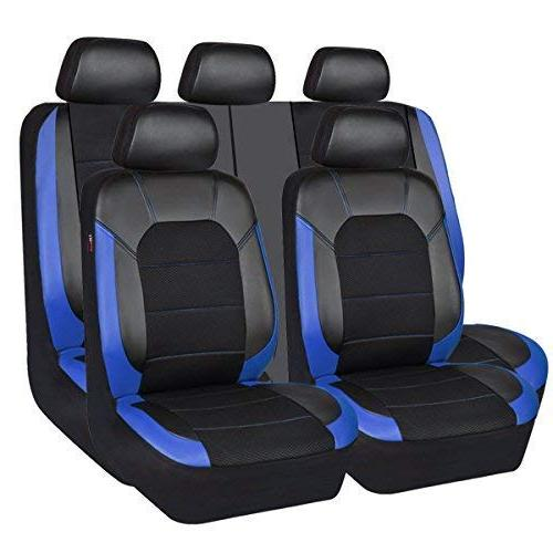 leather and mesh universal fit car seat