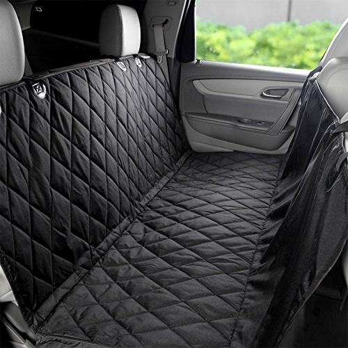 EUPETS Extra Dog Seat With for Truck and SUV,Thick Non-Slip Convertible, Black