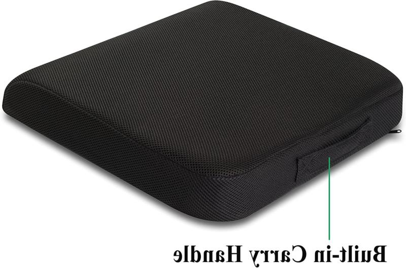 Memory Seat Cushion Extra Washable Breathable Cover