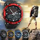 Men's Solar Powered Military Digital Watch Waterproof Sport