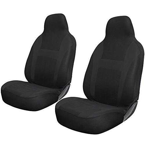 mesh integrated back bucket seat