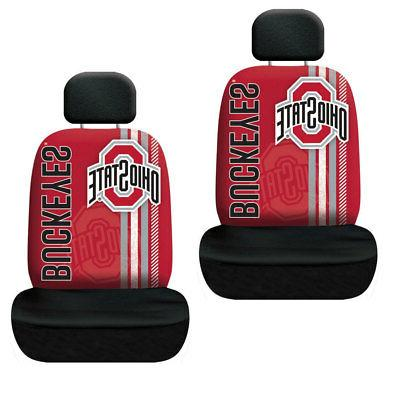 New NCAA Ohio State Buckeyes Rally Car 2 Front Seat Covers &