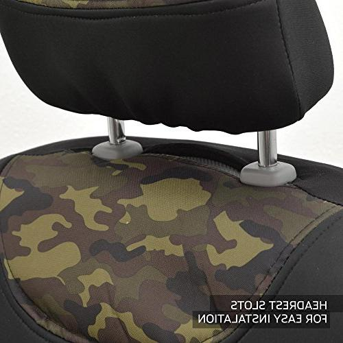 NeoCloth Waterproof Seat Covers Protector Set w/Back