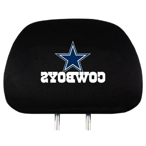 nfl dallas head rest covers