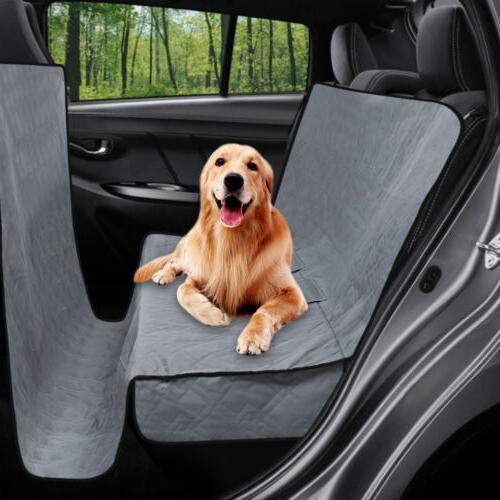 Pet Dog Car Truck Van Seat Cover Quitlted Padded Non-slip Ba