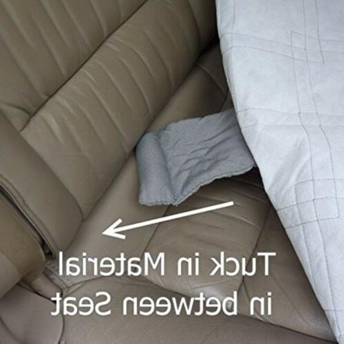 Extra Large Dog Cover Rear Back Seat Quitlted Padded