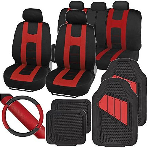 polycloth seat covers rubber floor