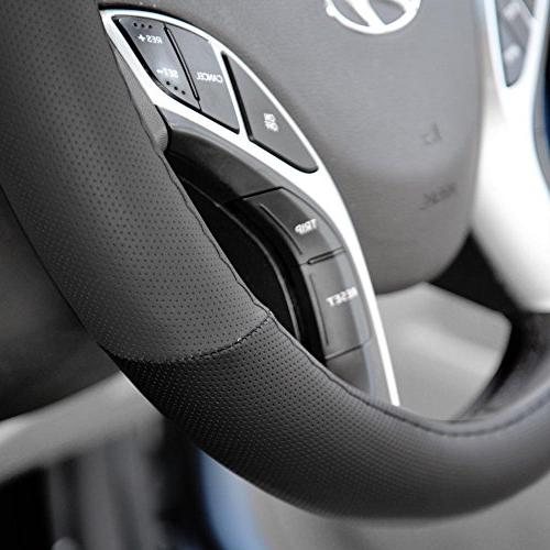 PolyCloth Seat Covers Rubber Mats & Steering Wheel Auto SUV - & Gray