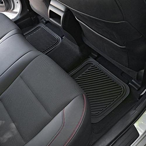 PolyCloth Rubber Steering Cover for Auto SUV Truck - Tone & Gray