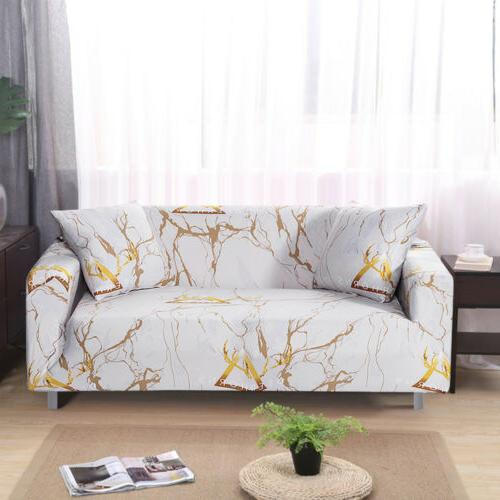 Printed Slipcover Spandex Couch Cover Furniture