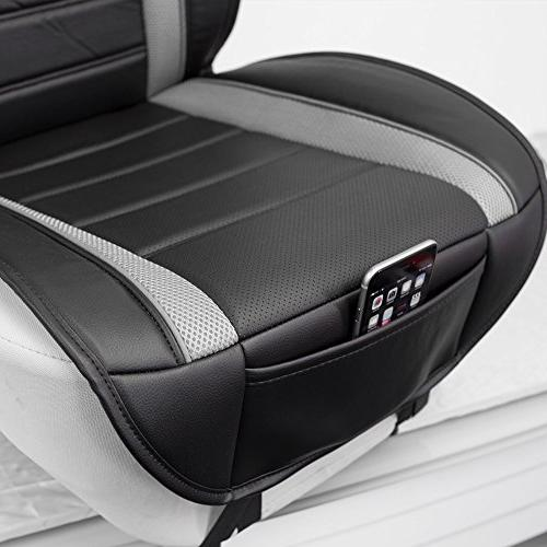 FH Group Leatherette Front Seat Cushions, Fit Most Car, or Van …
