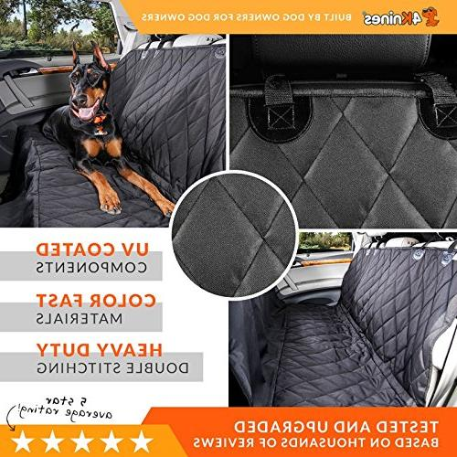 4Knines Dog Cover with Hammock for Cars, Trucks New Waterproof - Company