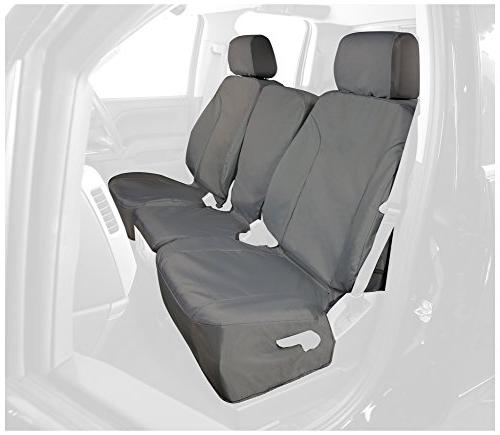 rear custom fit seat cover for select