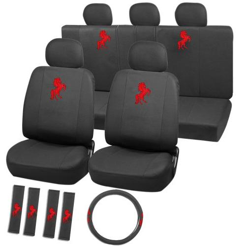 seat cover flat cloth embroidered
