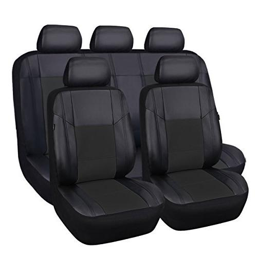 skyline pu leather car seat covers universal