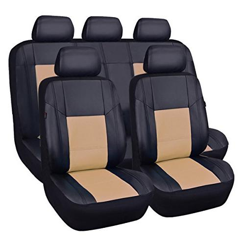 skyline pu leather universal car seat covers