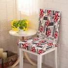 Spandex Chair Cover UK Flag Plant Pattern Home Party Stretch