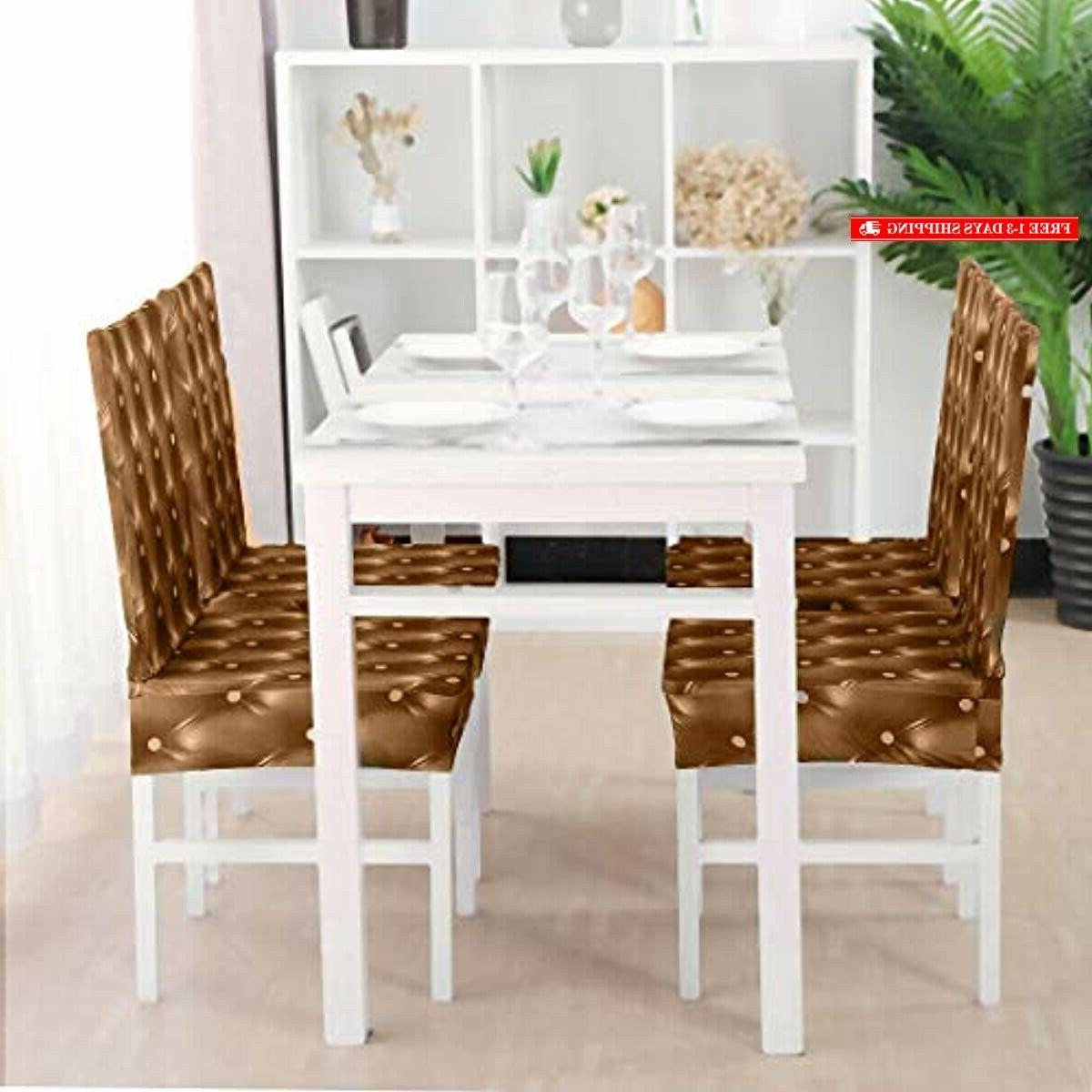 uxcell Stretch 3D Dining Chair Seat