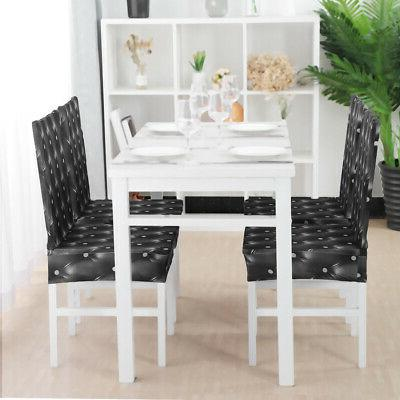 Stretchy Dining Chairs Cover Short Chair Covers Washable Pro