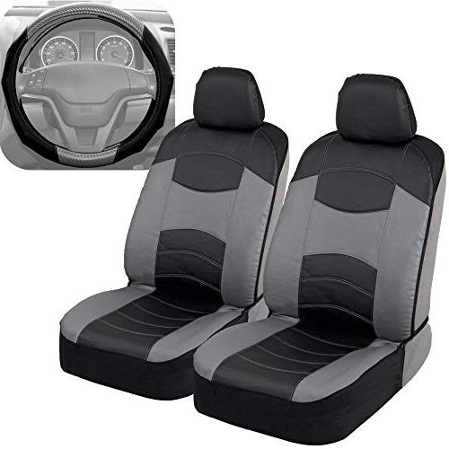 v leather car seat covers and steering