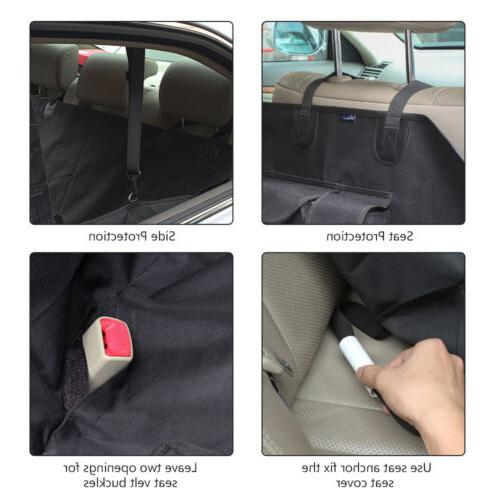 Waterproof Dog Cover Hammock for Car Bench Mat Covers