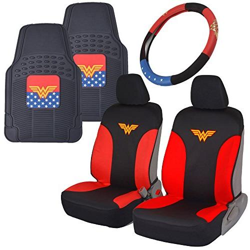 wonder woman car accessories pack seat cover
