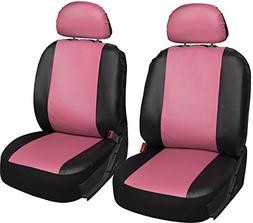 OxGord Leatherette Bucket Seat Cover Set for Car, Truck, Van