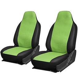 Oxgord 2pc Leatherette Integrated High Back Bucket Seat Cove