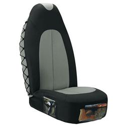Accessories X-Line Universal Bucket Seat Cover-Black/Grey