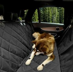 EUPETS Extra Large Luxury Dog Car Seat Cover With Anchors fo